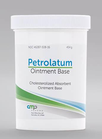 Illustration of a Petrolatum container