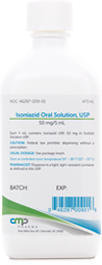 Illustration of a Isoniazid Oral Solution container